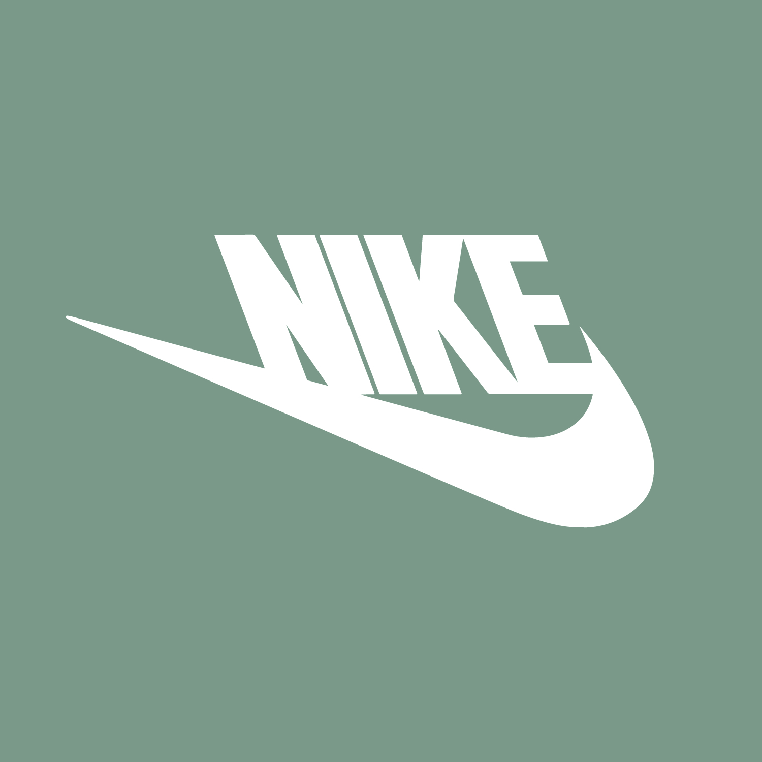 Nike Logo reflected