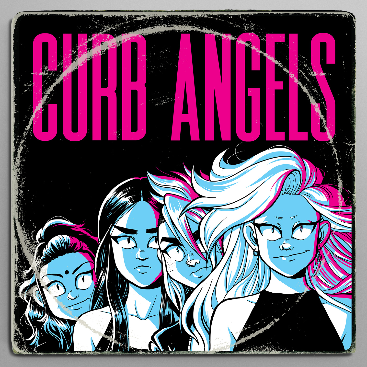 Curb Angels poster art